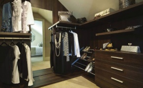 Inspiring Design: walk in wardrobes at Grand Designs Live