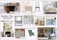 Diploma Assignment: Shabby Chic Trend inspiration board