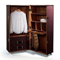 Hemingway Suitcase-Style Wardrobe