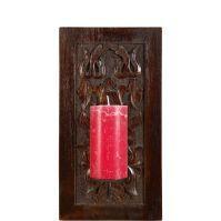 Goa Wall Candle Holder - http://www.butlers-online.co.uk/GOA-Kerzenhalter-21x15x40cm/VM10194306,en,pd.html?dwvar_VM10194306_color=dunkelbraun&start=10&cgid=Candles