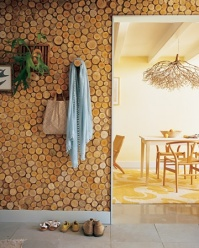 Birch Wall Panel - http://www.marthastewart.com/271916/birch-wall-panel