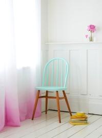 Dip dye curtains - http://www.charlottelovey.blogspot.co.uk/