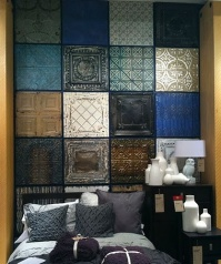 Faux Tin Tiles - http://pinterest.com/pin/460774605595447757/