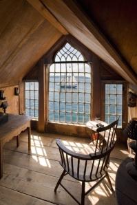Beautiful wooden windows - http://imgur.com/gallery/ESYfA