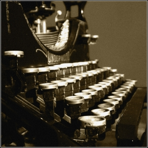 Vintage typewriter - http://technorati.com/lifestyle/article/want-a-safe-investment-typewriters/