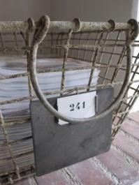 Simple but elegant document basket - http://pinterest.com/pin/22306960626751149/