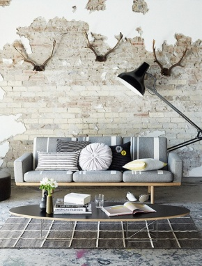 Pinterest Friday: 10 Exposed Interiors