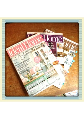 Personal Inspiration #3: Ideal Home Magazine
