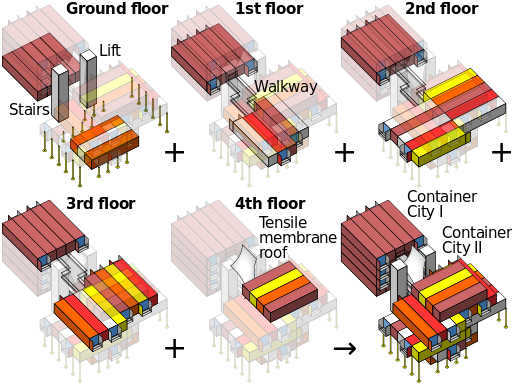 Container_City_massing_model
