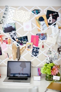 Hold photos with ribbons - http://www.theyallhateus.com/page/2/