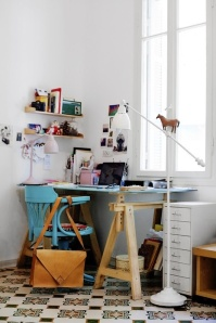 Eclectichttp://www.chictip.com/inspirational-interiors/inspiration-10-beautiful-eclectic-home-offices living -
