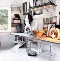 Inventive lighting - http://indulgy.com/post/BwtaIbgRW1/bakja-chair-chair-home-vintage-modern