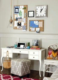 Stylish seat - http://www.ballarddesigns.com/real-simple/real-simple-home-office?cm_mmc=Pinterest-_-real+simple-_-MJJ13-_-prodlink&redirect=y